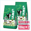 【お買い得2袋セット】アイムス [IAMS] 1歳〜6歳用 成犬用 チキン 小粒 18kg ブリーダーパック