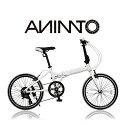 【ANIMATOアニマート】折り畳み自転車 ANIMATO AL20インチ 軽量アルミフレーム 街乗り コンパクト おすすめ