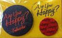 【新品】嵐 LIVE TOUR Are you Happy? 2016 公式グッズ 福岡 会場限定 バッジセット 櫻井翔 赤色 缶バッジ