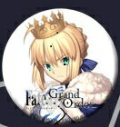 Fate Grand Order (FGO) × 空の境界 コラボカフェ 缶バッジ アルトリア・ペンドラゴン