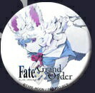 Fate Grand Order (FGO) × 空の境界 コラボカフェ 缶バッジ フォウ