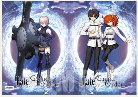 Fate/Grand Order ランチョンマットケース 主人公 & マシュ・キリエライト シールダー 空の境界 × Fate/Grand Order コラボカフェ 限定