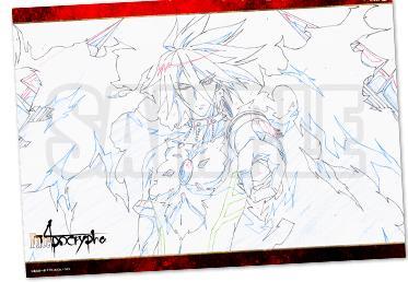 【非売品】 Fate/Apocrypha コラボカフェ 第2弾 赤の陣営 ランチョンマット 赤のランサー カルナ マチアソビカフェ限定特典