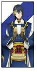 【新品】マチアソビカフェ 刀剣乱舞 活撃 上映会描き下ろしイラスト チケットホルダー 三日月宗近