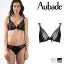 【50%オフ】【Aubade】オーバドゥFemme Aubade(フェム オーバドゥ)トライアングルプランジブラ(MC12)
