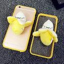 iPhone5 iPhone5s SE iPhone6 クリアフレーム プラケース おもしろジョーク ぬいぐるみバナナ ばなな 食品 フード 食べ物 果物 フルー..