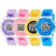 SYNOKE モデル99268 キッズ(子供用)ウォッチ スポーツウォッチ 腕時計 シリコンバンド パステルカラーP01Jul16
