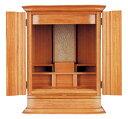 ★小さな洋室に最適な小型仏壇です。【送料無料】家具調仏壇(上置き) イフ18号