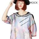 ankoROCK アンコロック ビッグ Tシャツ メンズ カットソー レディース チュール ワンピース セーラー ユニセックス 服 ブランド 半袖 大きいサイズ ビッグシルエット メッシュ セーラー服 カラフル ゾンビ