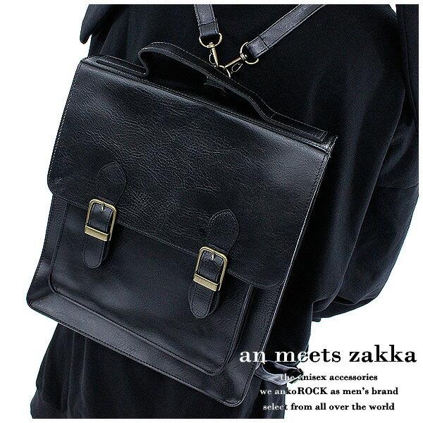 リュック メンズ リュック レディース リュック ユニセックス リュックサック レザー バッグ 鞄 黒 ブラック
