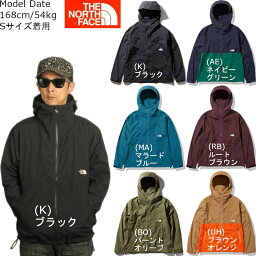 THE NORTH FACE <strong>マウンテンパーカー</strong> ザ <strong>ノースフェイス</strong> コンパクトジャケット メンズ NP71830 サイズS〜XXL 薄手 軽量 撥水加工 COMPACT JACKET 2020秋冬新作 あす楽対応 送料無料