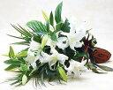 お祝いの花束 カサブランカの花束