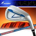 アキラ ゴルフ ADR アイアン 5本セット NewSPEEDERテクノロジーADRカーボン