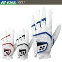 【メール便配送 代引不可】 ヨネックス レザーコンボ ゴルフグローブ メンズ ゴルフ 右利き(左手用) 天然皮革 合成皮革 GL-150