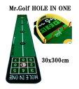 ●送料無料! ★あす楽対応★ 【Mr.Golf 高級マット】 ミスターゴルフ ホールインワン 30x300cm