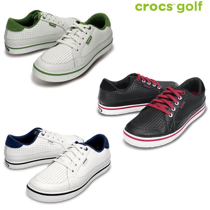 ★ Crocs ( CROCS ) drayden Dresden golf shoes 18975