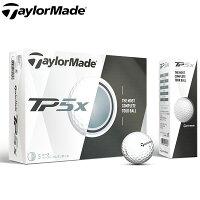 ★あす楽対応&送料無料★ 【日本正規品】テーラーメイド ゴルフボール 1ダース(12p) TP5X TaylorMade TP5Xの画像
