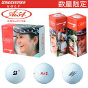【数量限定】 ブリヂストンゴルフ 宮里藍 Ai54 LIMITED TOUR B X ゴルフボール 半ダース(6球入) 8BWYA