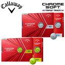 キャロウェイ ゴルフ クロムソフト トリプルトラック ゴルフボール 1ダース(12球入り) 2020モデル