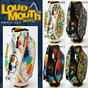 【2016年モデル】 【日本正規品】 LOUDMOUTH ラウドマウス 9型 カートバッグ キャディバッグ LM-CB0002 1201_flash 05P03Dec16