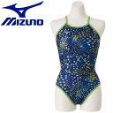 ミズノ 水泳 エクサースーツ ミディアムカット 練習水着 レディース N2MA976314