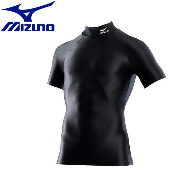 【メール便配送 代引不可】ミズノ バイオギア ドライアクセル ハイネック半袖シャツ メンズ A60BS35509