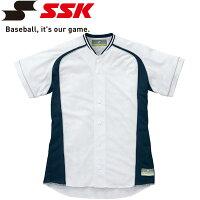 【ゆうパケット配送】エスエスケイ SSK 野球 切替メッシュシャツ 受注生産 メンズ・ユニセックス US0003M-1070sの画像