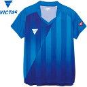 【ゆうパケット配送】ヴィクタス V-LS054 ゲームシャツ レディース 031468-0120