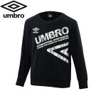 アンブロ サッカー Jr.スウェットクルートップ ジュニア UMJOJF24-BLK