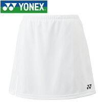 【ゆうパケット配送】 ヨネックス テニス スカート ジュニア 26046J-011の画像