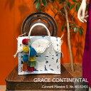 グレース グレースコンチネンタル Cutwork Maestra S カービングバッグ バッグ 鞄 GRACE CONTINENTAL 送料無料 48182401