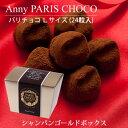 冬季限定スイーツ! バレンタイン・ギフトに人気の アニー パリチョコ 24粒(Lサイズ)生チョコ のような口どけと濃厚なカカオが贅沢な チョコレート。