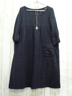 Sale sale ♪ W gauze BW dress M-5 L, no. 9-No. 22