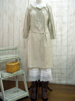 ♪ book sale 10 days delivery! half linen Le-プワンピ M-5 L, no. 14-No. 22