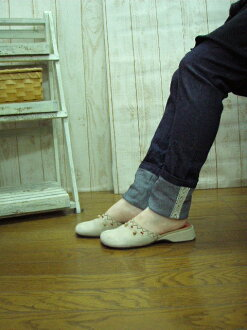 Les-sources with ストレッチスキニ-rumpled spats and Navy S-5 L made in Japan