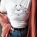 Tシャツ プリントTシャツ トップス ピタT チビT ちびT レディース ファッション 韓国 ファッション プリント 半袖 カジュアル シンプル..