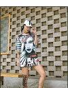 【30%OFFクーポン発行中】ダンス 衣装 ヒップホップ ダンス 衣装 トップス レディース フェイス アバターtシャツ tシャツ 目立つ 大きいサイズ 大きめ