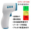 赤外線温度計 在庫あり・国内発送・日本語説明書・乾電池付・1年保証 検温器 おで
