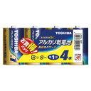 【東芝】アルカリ乾電池 単1形 4本入 LR20L4MP ※お取り寄せ商品【NT】【RCP】【02P03Dec16】