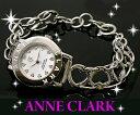アンクラーク時計 オープンハート ブレスレット ウッチシルバー×ホワイトシェル【AN-1021-09 】【新品・正規品】 レディース腕時計 【ANNE CLARK】【アンクラーク 腕時計】【天然ダイヤ】【ANNE CLARK 腕時計】【ANNE CLARK時計】【正規品】