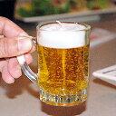 本物そっくり♪生ビールのミニチュアキャンドルカメヤマローソク ミニビールジョッキG御供えに!...