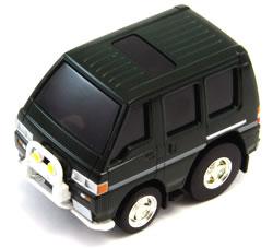 チョロQzero三菱デリカスターワゴン4WDグリーン