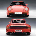 959 automatic art 1/18 Porsche red