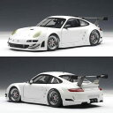 2010 automatic art 1/18 Porsche 911 (997) GT3 RSR plane body white