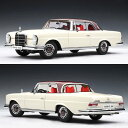 1968 automatic art 1/18 Mercedes-Benz 280SE coupe white (red roof)