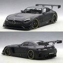 オートアート 1/18 メルセデス AMG GT3 マットブラック