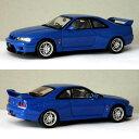 エブロ 1/43 スカイライン R33 GT-R Vスペック 1995 ブルー