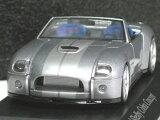 ミニチャンプス 1/43 フォード シェルビー コブラ コンセプト 2004 グレーM