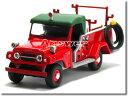 【絶版】TLヴィンテージ 日産パトロール ポンプ車 高崎市消防署