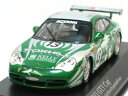 No. 13 mini-champs 1/43 Porsche 911 GT3 cup Daytona 2004